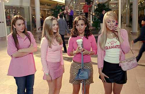 """they made us watch """"Mean Girls"""" at freshman orientation in ..."""
